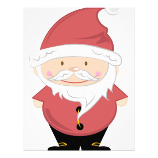 Santa Clause Custom Letterhead