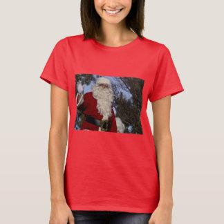 Santa Clause Waving T-Shirt