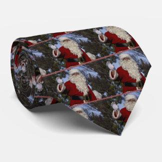 Santa Clause Waving Tie