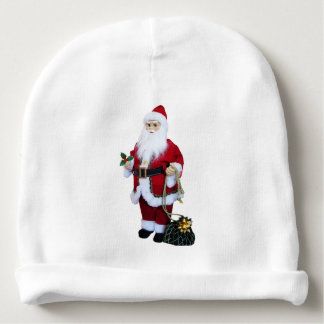Santa Clause with Bag Baby Beanie