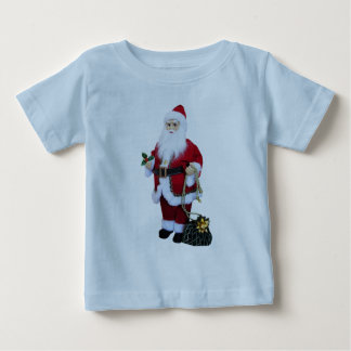 Santa Clause with Bag Baby T-Shirt