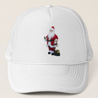 Santa Clause with Bag Trucker Hat