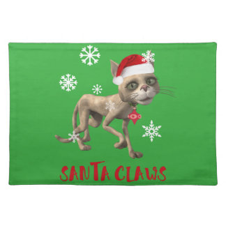 SANTA CLAWS! PLACEMAT