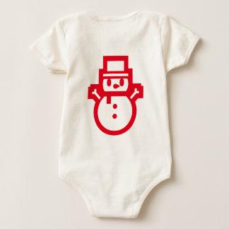 santa collection baby bodysuit