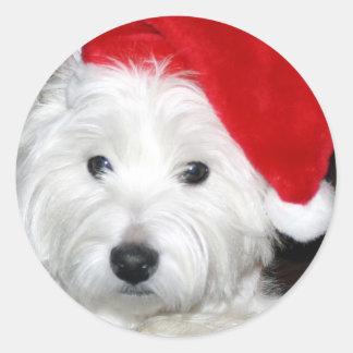 Santa Coop Sticker