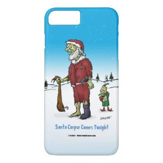 Santa Corpse Funny Zombie Cartoon iPhone 7 Plus Case