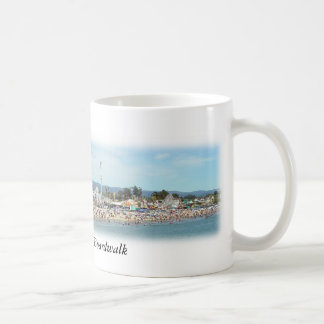 Santa Cruz Beach Boardwalk Panoramic Photo Mug