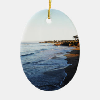 Santa Cruz Beach Ceramic Ornament