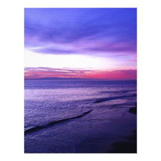 Santa Cruz Coastline Letterhead Template