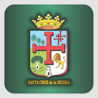 Santa Cruz de la Sierra Square Sticker
