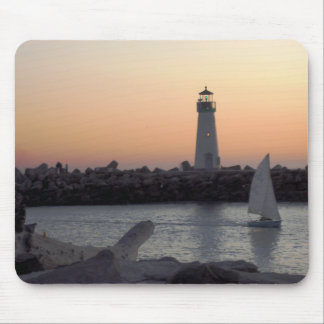Santa Cruz Lighthouse Mousepad