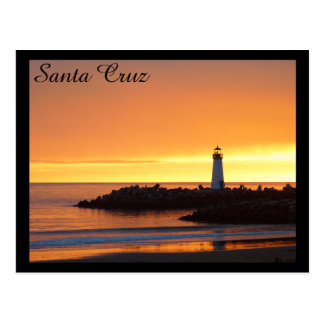 Santa Cruz Lighthouse Postcard