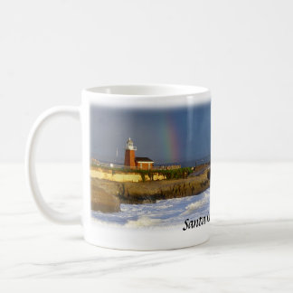 Santa Cruz Lighthouse/Rainbow Mug
