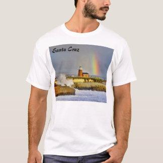 Santa Cruz Lighthouse/Rainbow - T-Shirt