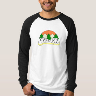 Santa Cruz mountains baseball shirt