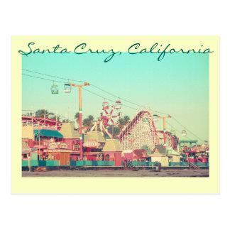 Santa Cruz Nostalgia Postcard