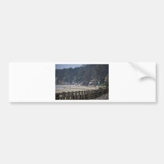 Santa Cruz, Seacliff Beach.jpg Bumper Sticker
