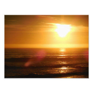 Santa Cruz Sunset Photo Print