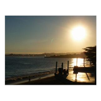 Santa Cruz Sunset Postcard