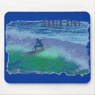 Santa Cruz surfer mouse pad
