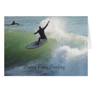 Santa Cruz Surfing Card