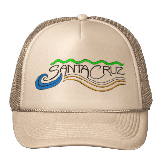 Santa Cruz wave hat