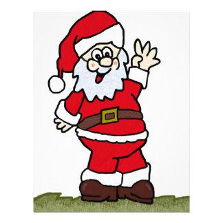Santa Custom Letterhead