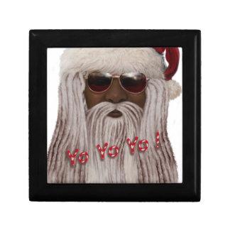 Santa ( dark ) in Dreads -Yo Yo Yo! Jewelry Boxes