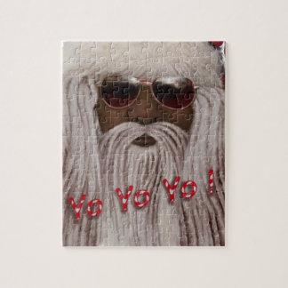 Santa ( dark ) in Dreads -Yo Yo Yo! Jigsaw Puzzle