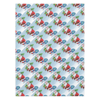 Santa Delivering Christmas Pattern Tablecloth