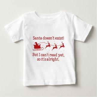 Santa Doesn't Exist! Baby T-Shirt