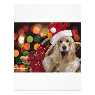 Santa Dog Letterhead