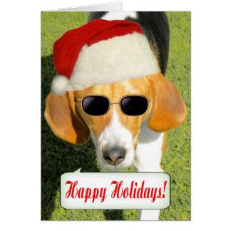 Santa Dog Products Greeting Card