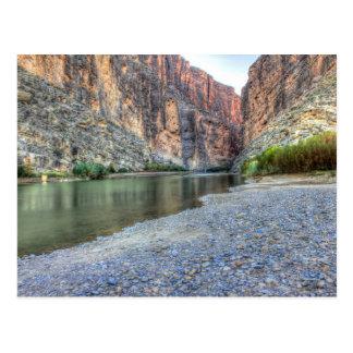 Santa Elena Canyon, Big Bend National Park Postcard