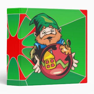 Santa Elf and Ornament Binders