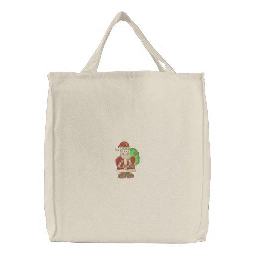 Santa Canvas Bag