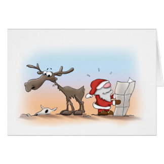 Santa & Eric: off road Card