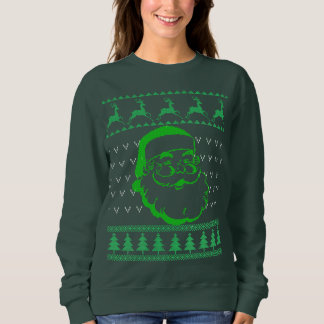 Santa Face Ugly Christmas Sweater