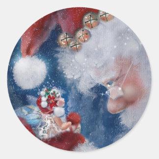 Santa & Faery Holiday Stickers