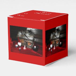 Santa Family Favor Box