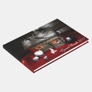 Santa Family Guest Book