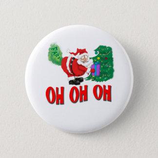santa farted 2 inch round button