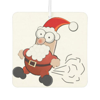 Santa Farting Air Freshener