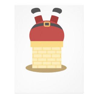 santa fat letterhead