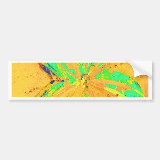 Santa Fe Acid wash yellow Bumper Sticker
