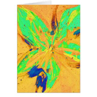 Santa Fe Acid wash yellow Card
