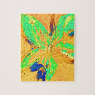 Santa Fe Acid wash yellow Jigsaw Puzzle