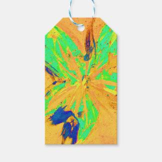 Santa Fe Acid wash yellow Pack Of Gift Tags