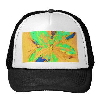 Santa Fe Acid wash yellow Trucker Hat