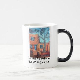 Santa Fe Adobe, New Mexico Magic Mug